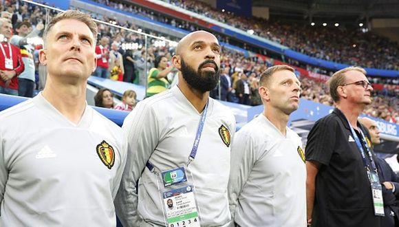 Thierry Henry pertenece a la Selección de Bélgica desde agosto del 2016. (Getty)