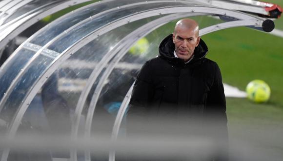 Zidane se iría por segunda vez del banquillo del Real Madrid. (Foto: AFP)