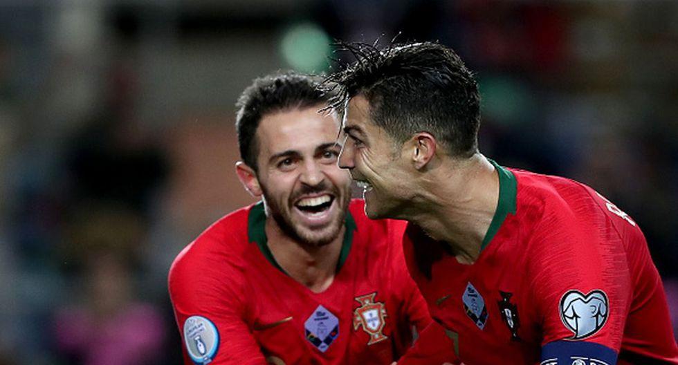 Portugal goleó 6-0 a Lituania con triplete de Cristiano Ronaldo por las Eliminatorias a la Euro 2020. (Getty Images)