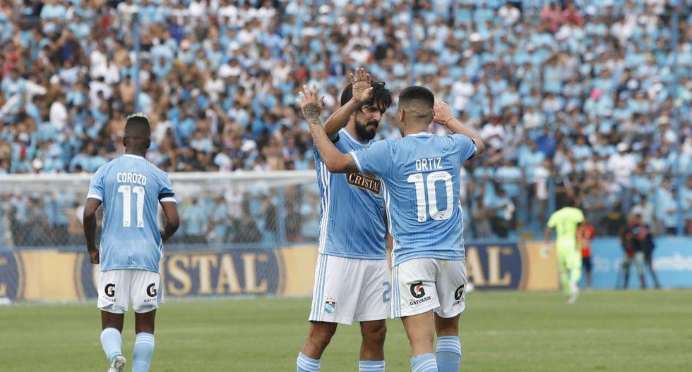 Cristal está empató 2-2 con Independiente del Valle en la 'Tarde Celeste'. (Foto: Francisco Neyra)