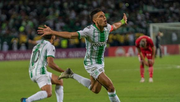 Daniel Muñoz ha sido una de las figuras del Atlético Nacional en la temporada. (Foto: @nacionaloficial)