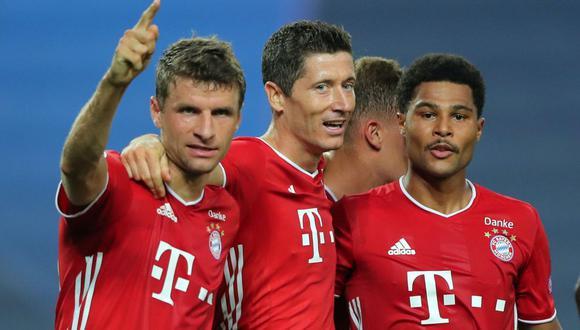Bayern Munich vs. Lyon en Lisboa por semifinales de la Champions League.  (Foto: AFP)
