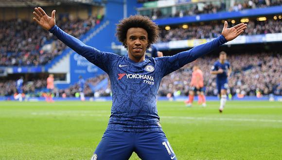 Willian no seguirá en el Chelsea, y está en busca de un nuevo equipo. (Foto: Getty Images)