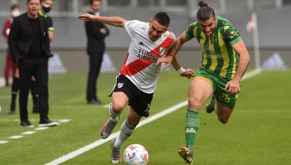 River y Aldosivi chocaron por la Copa de la Liga (Foto: @riverplate)