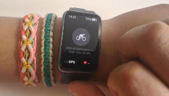 Huawei Watch Fit: los datos que puedes obtener usando la función de ciclismo