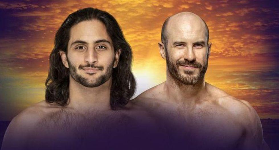 Mansoor vs. Cesaro. (Foto: WWE)