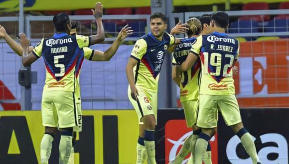 América venció a San Luis sobre la hora en el arranque del Guard1anes Clausura 2021