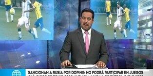 Excluyen a Rusia de Juegos Olímpicos y de la Copa del Mundo