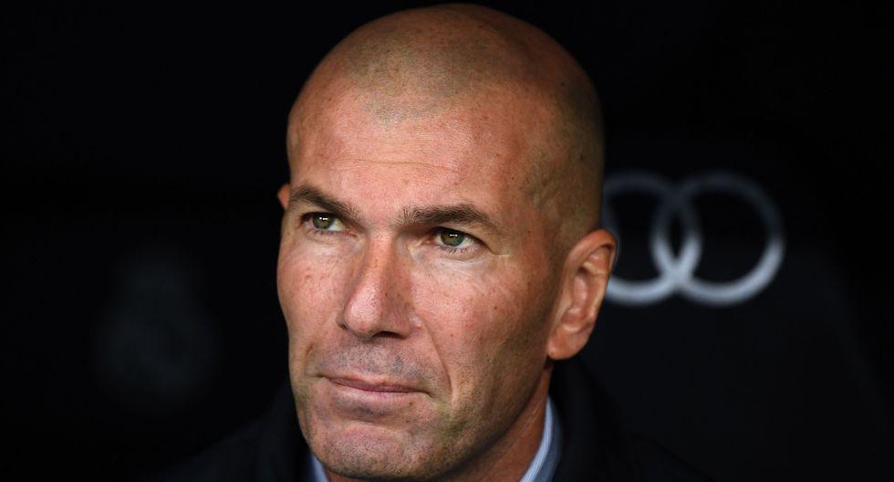 5 - Zinedine Zidane - Real Madrid - 23 millones de euros. (Foto: AFP)