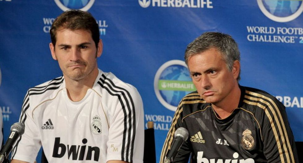 Mourinho dirigió a Casillas en el Real Madrid. (Getty)
