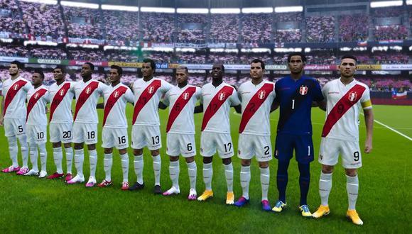 PES 2021: Así lucen los rostros de la Selección Peruana en el simulador de Konami