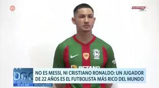 Ni Messi, ni Cristiano Ronaldo: conoce al futbolista más rico del mundo
