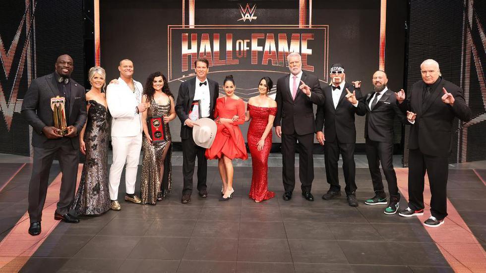Las mejores imágenes de la ceremonia del Salón de la Fama de WWE. (WWE)