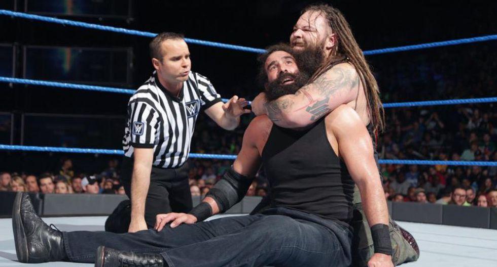 La sorpresiva reacción de Bray Wyatt tras el debut de Luke Harper en AEW. (WWE)