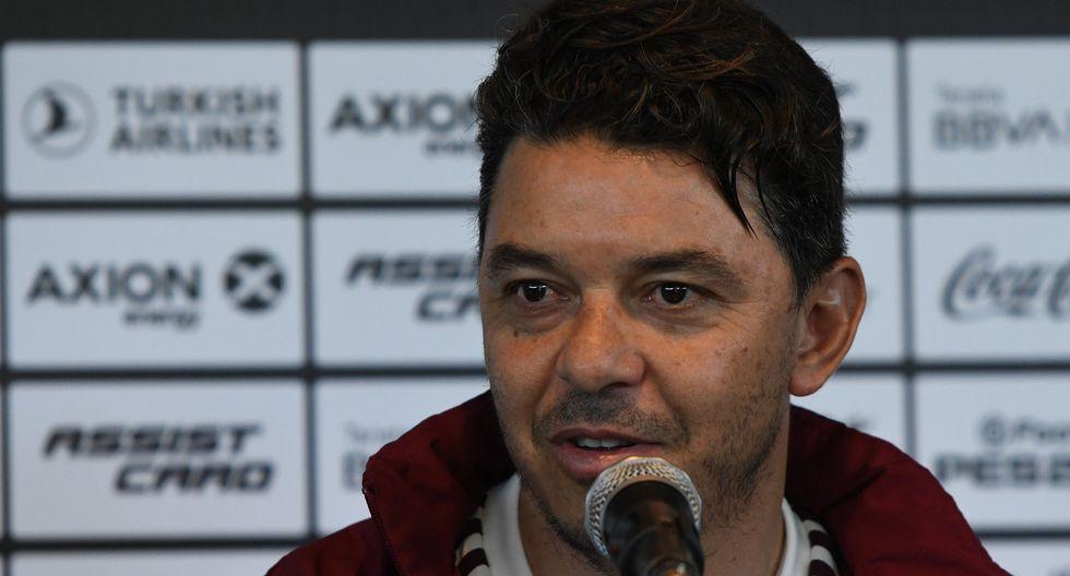 Marcelo Gallardo habló en conferencia de prensa previo al partido ante Rosario Central por la Superliga Argentina, (Foto: Agencias)