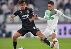Mazazo histórico: Juventus cayó ante Sassuolo en Turín por primera vez en la Serie A