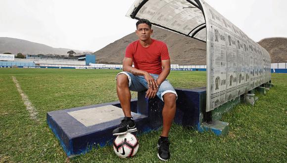 Paolo de la Haza se sumó a la campaña de salud mental de Sport Boys. (Foto: GEC)