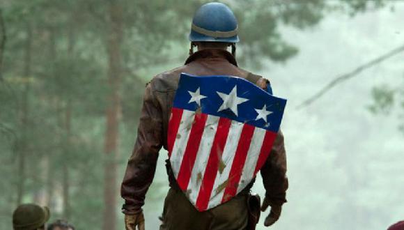 Pocos se dieron cuenta de la aparición del primer escudo del Capitán América