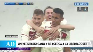 Universitario derrotó a Binacional y se ilusiona con clasificar a la Copa Libertadores