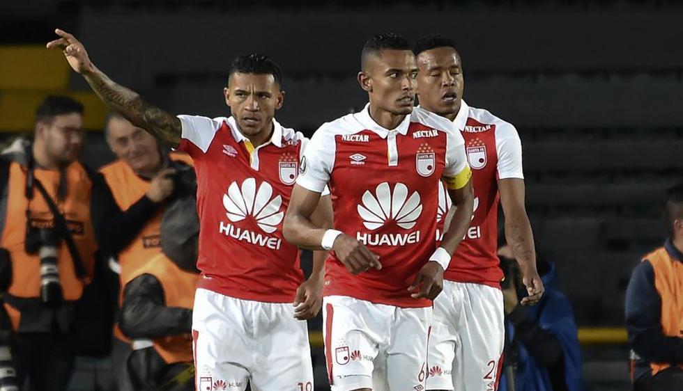 Santa Fe se metió al Grupo 4 de la Copa Libertadores 2018. (AFP / Reuters)