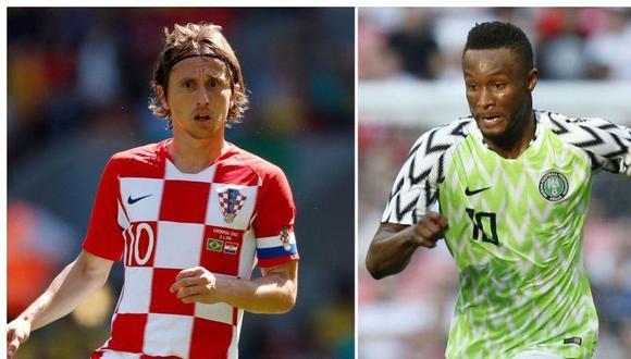 Fecha, horarios y canales en el mundo del Croacia vs Nigeria por Rusia 2018.
