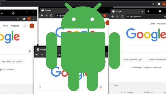 Pestañas ilimitadas en Google Chrome en cada grupo de ventanas. Conoce todos los detalles que trae Android 12 para el navegador. (Foto: Mag)