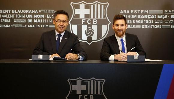 Lionel Messi ha ganado cuatro Champions League con el FC Barcelona. (FC Barcelona)