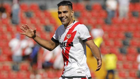 Radamel Falcao llegó al Rayo Vallecano proveniente del Galatasaray de Turquía. (Foto: Getty Images)