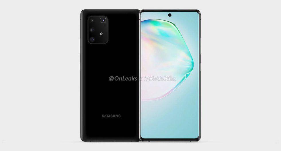 ¿Un nuevo terminal de Samsung? Se filtra por completo cómo será el Galaxy S10 Lite. (Foto: SamMobile)