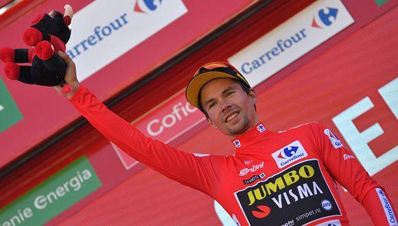 Primoz Roglic se mantiene como líder de la Vuelta a España 2019. (Foto: Getty Images)