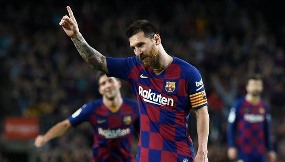 El deseo de Lionel Messi con el Barcelona y su familia. (Foto: AFP)