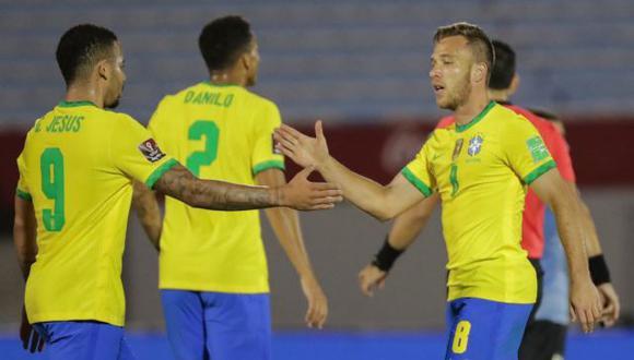 Brasil venció a domicilio a Uruguay por Eliminatorias Qatar 2022. (Difusión)