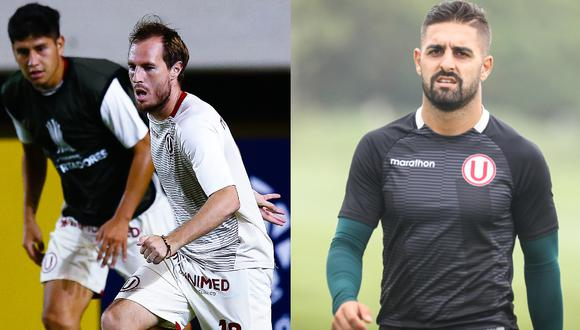 Novick y Urruti no sumaron minutos en duelo de Universitario. (Foto: Prensa U)