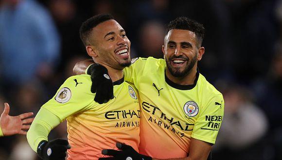 Manchester City, con su victoria, se mantiene en el segundo lugar de la Premier League. (Foto: Getty)