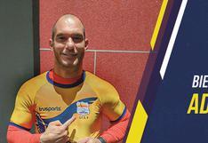 Adrián Zela fue presentado como el nuevo refuerzo de Sport Chavelines de la Segunda División