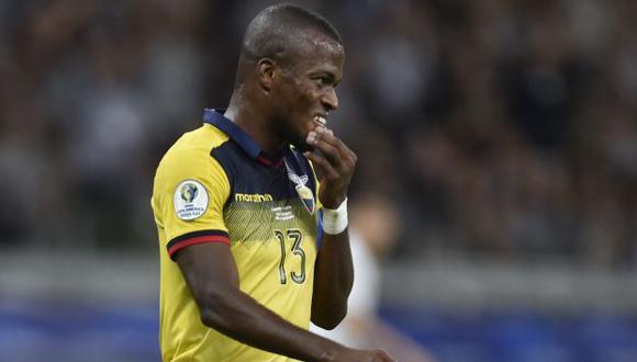 Enner Valencia ha sido titular en los tres partidos que estuvo disponible en Ecuador en las Eliminatorias. (Foto: AFP)