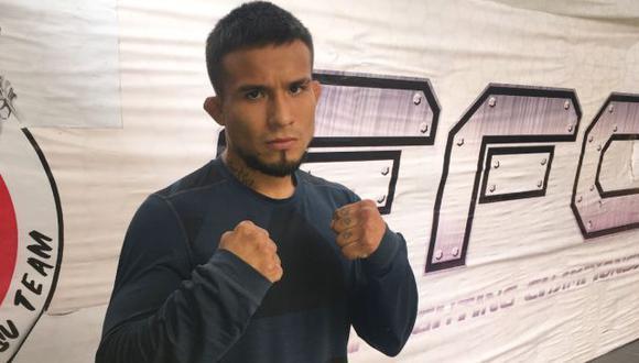 Carlos Huachín regresa a la jaula del FFC en la vuelta de las artes marciales mixtas en Perú. (Difusión)