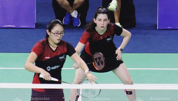 Daniela Macías y Danica Nishimura buscan su cupo a Tokio 2020 en dobles. Daniela, además, quiere clasificar en singles. (Foto: Badminton Pan American)
