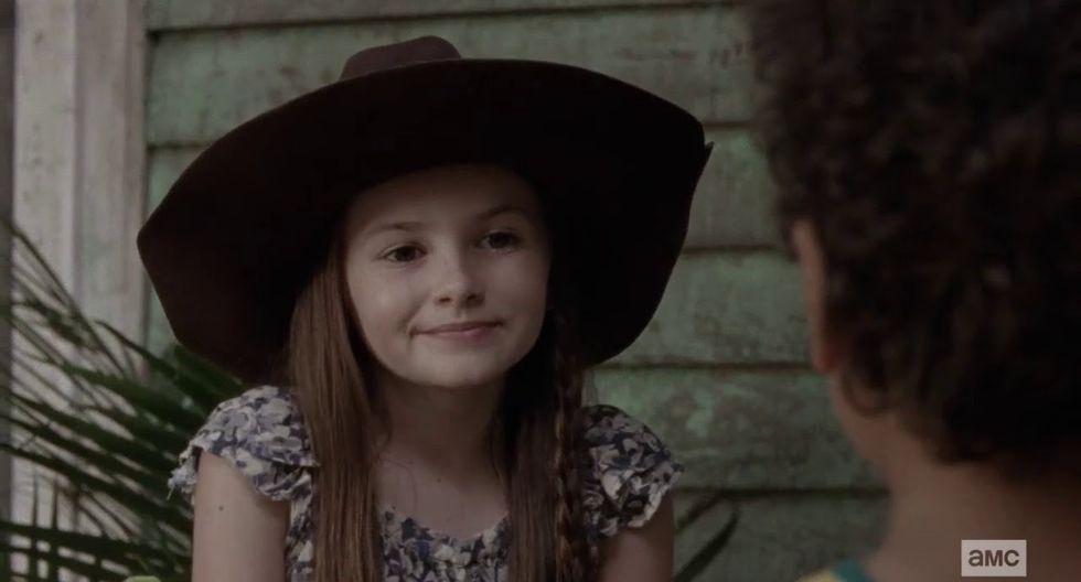 The Walking Dead: ¿qué pasará con Judith y RJ cuando Michonne se vaya de la serie? (Foto: AMC)