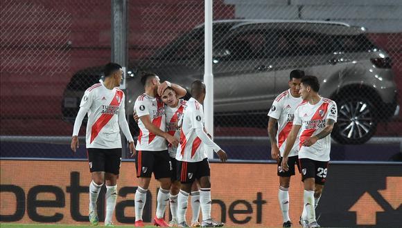 River Plate venció a Liga de Quito y terminó como líder del Grupo D. (Foto: Conmebol).