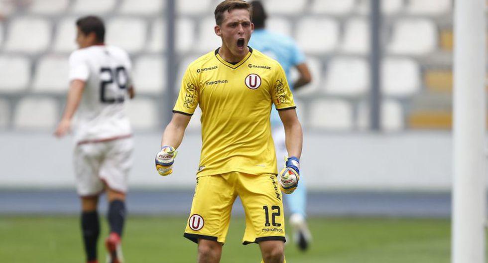 Zubczuk se ganó la titularidad en el arco de Universitario.