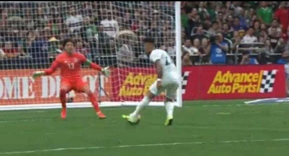 Lautaro Martínez anotó un doblete para que Argentina venza 2-0 a México. (Mis Marcadores)