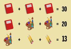 Si consigues resolver este acertijo lógico matemático en solo 30 segundos, posiblemente seas un genio