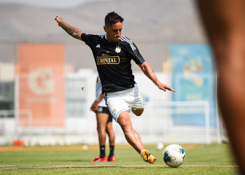 Alejandro Hohbergse ha convertido en el séptimo jugador que ha anotado goles con las camisetas de Sporting Cristal, Universitario y Alianza Lima. (Foto: Sporting Cristal)