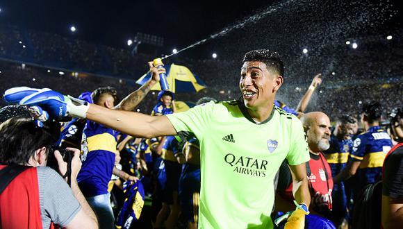 Esteban Andrada juega como portero en Boca Juniors desde 2018 (Foto: Getty Images)