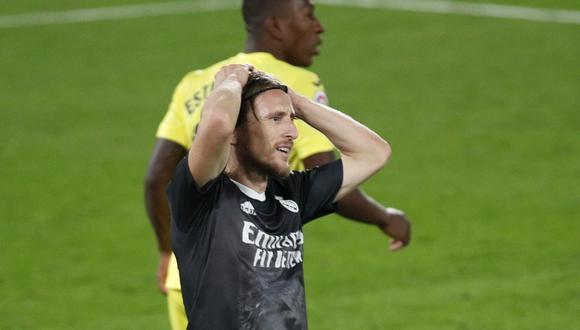 Modric termina contrato con el Real Madrid en junio del otro año. (Foto: AFP)