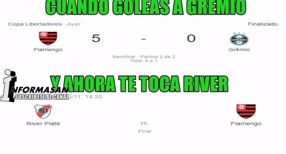 Las mejores reacciones del River-Flamengo por la gran final de la Copa Libertadores en Lima