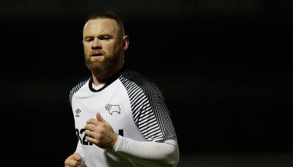 Wayne Rooney se retira del fútbol para encargarse de Derby County. (Foto: AFP)