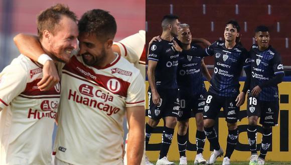 Universitario e Independiente del Valle chocan por la fecha 5 del Grupo A de la Copa Libertadores 2021. (Fotos: Agencias)
