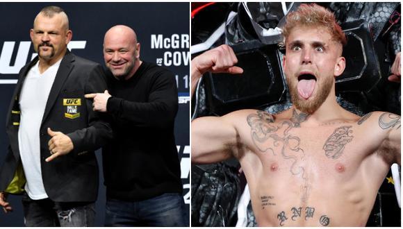 Leyenda de las MMA se ofrece a boxear contra el youtuber Jake Paul. (Difusión)